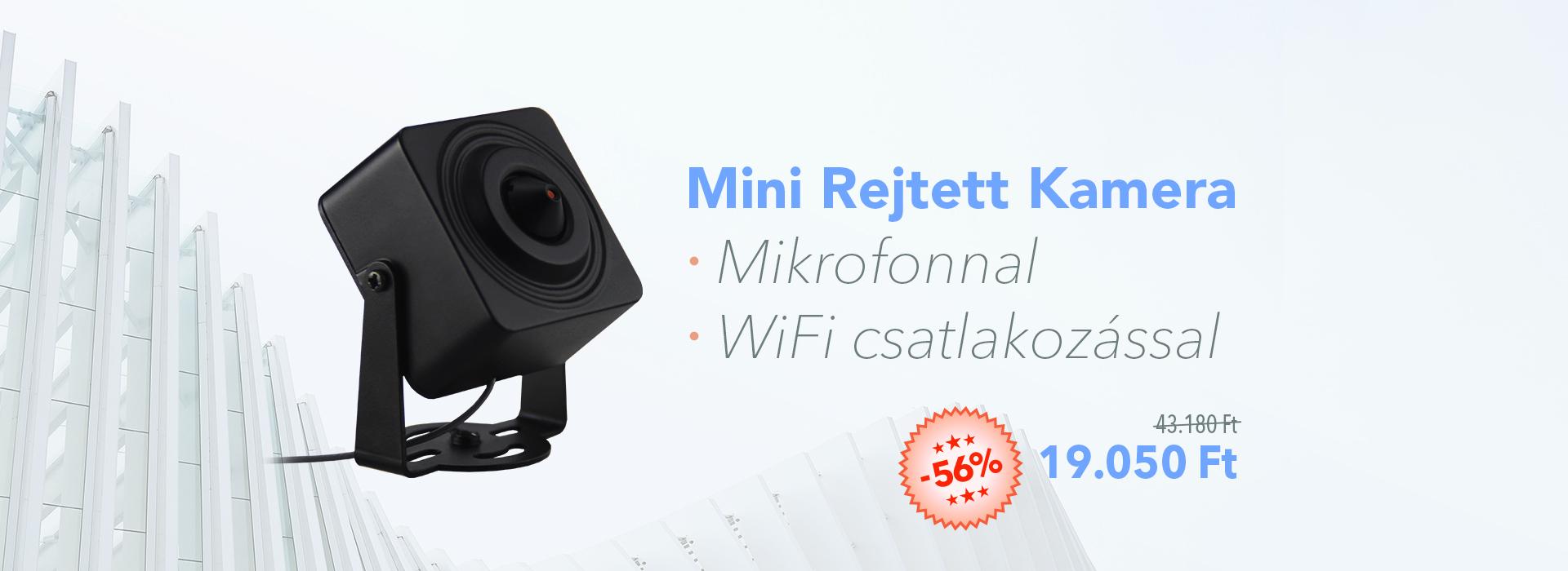 Mini kamera akcio