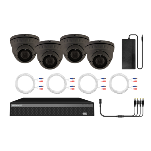 2MP Manuál Fókuszos AHD Kamera Kit, 4 Kamera, Rögzítő, Mobil alkalmazás