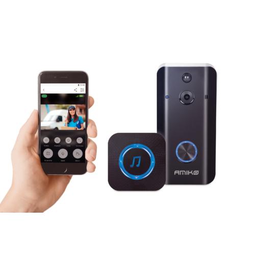 Videó Kaputelefon, WiFi, 2Mp IP kamera, Mobiltelefon Applikáció, Videó felvétel